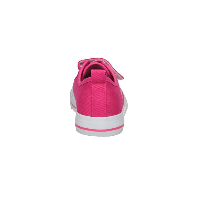 Różowe trampki dziewczęce bubblegummer, różowy, 229-5614 - 15