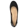 Baleriny zkryształkami bata, czarny, 529-6639 - 15