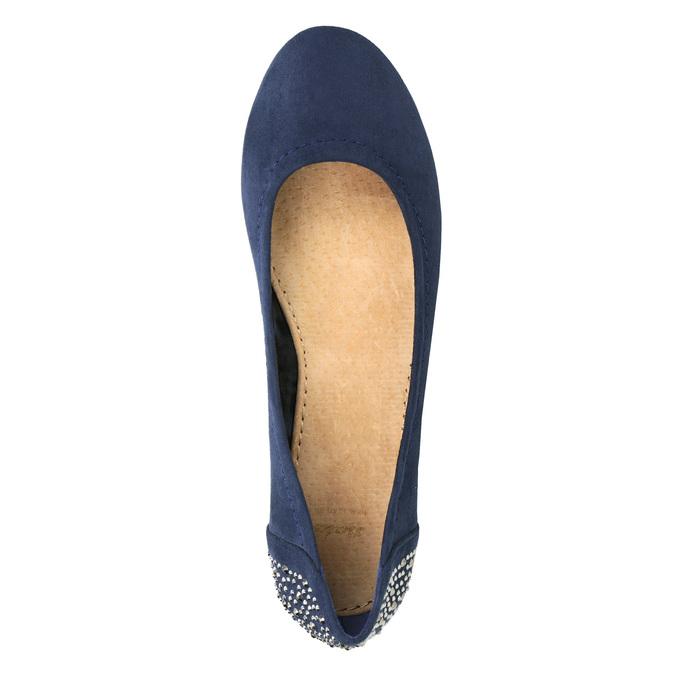 Niebieskie baleriny zkryształkami bata, 529-9639 - 15