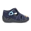 Granatowe kapcie chłopięce mini-b, niebieski, 179-9601 - 19