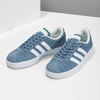 Błękitne zamszowe trampki adidas, niebieski, 503-2379 - 16