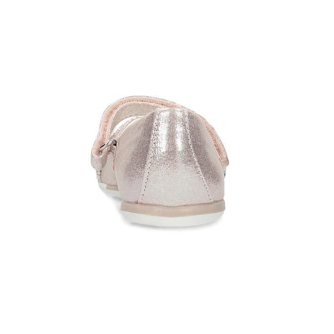 Różowe baleriny dziewczęce zrefleksami mini-b, różowy, 229-5106 - 15