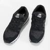 Czarne trampki damskie wsportowym stylu new-balance, czarny, 503-6874 - 16