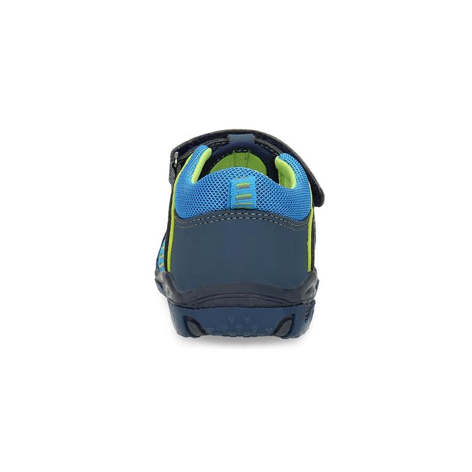 Sandały dziecięce na rzepy bubblegummer, niebieski, 161-9609 - 15