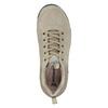 Skórzane obuwie wstylu outdoor power, beżowy, 503-3848 - 15