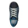 Niebieskie skórzane trampki chłopięce mini-b, niebieski, 416-9603 - 15