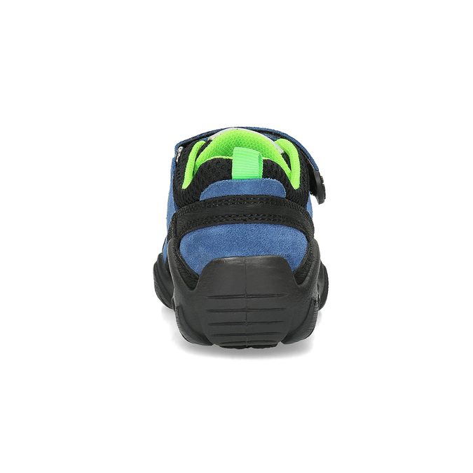 Slip-on dziecięce wstylu outdoor mini-b, niebieski, 413-9605 - 15