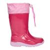 Różowe kalosze dziewczęce mini-b, różowy, 192-5111 - 26