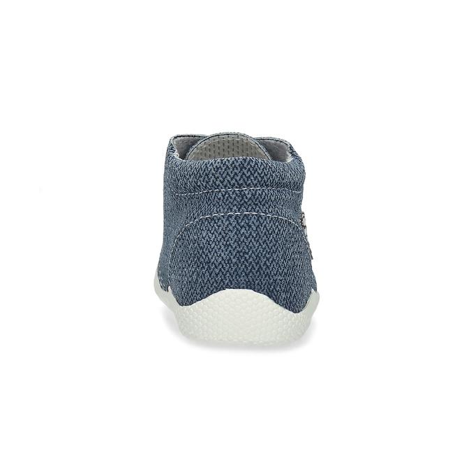 Trampki dziecięce za kostkę bata, niebieski, 113-9609 - 15