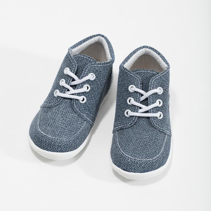 Trampki dziecięce za kostkę bata, niebieski, 113-9609 - 16