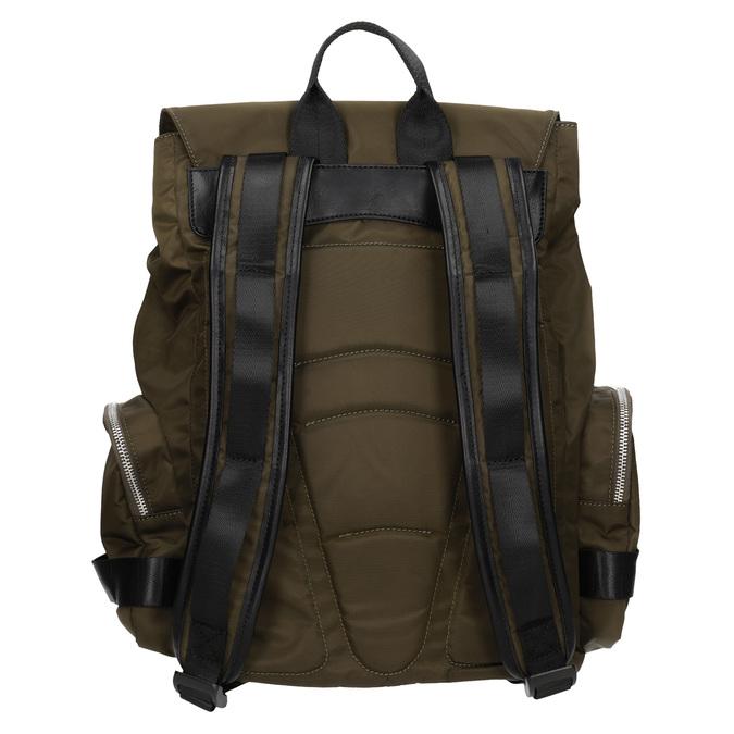 Plecak męski zmateriału tekstylnego wkolorze khaki, khaki, 969-3677 - 16