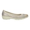 Skórzane baleriny zlakierowanymi noskami comfit, 526-8661 - 26
