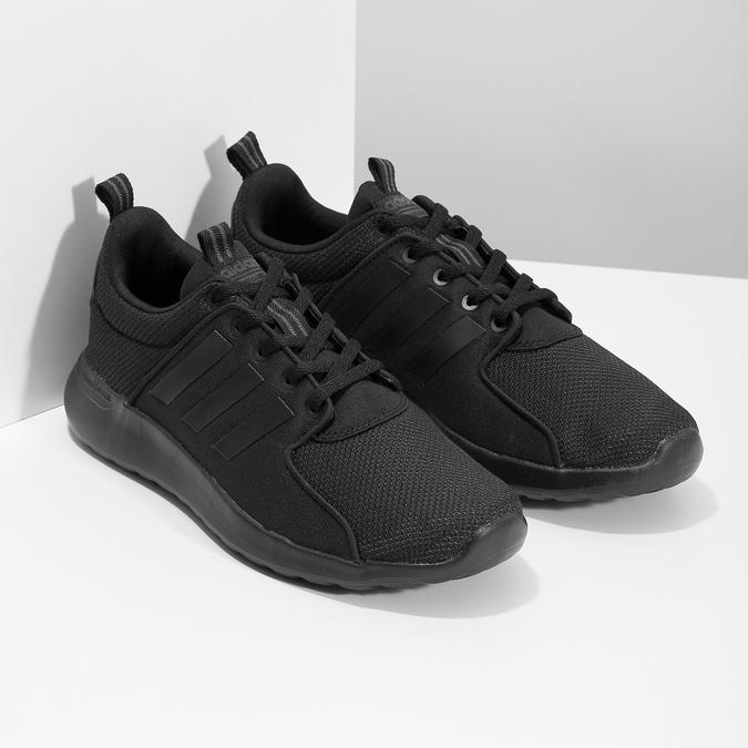 Czarne trampki męskie wsportowym stylu adidas, czarny, 809-6268 - 26