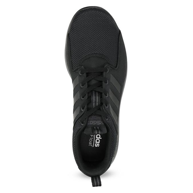 Czarne trampki męskie wsportowym stylu adidas, czarny, 809-6268 - 17