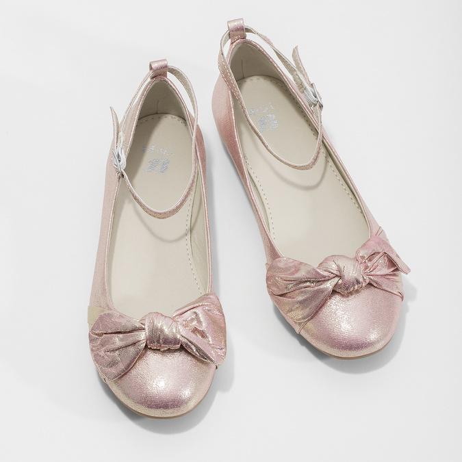 Różowe baleriny zdużymi kokardami mini-b, różowy, 329-5227 - 16