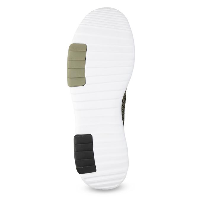 Trampki męskie wkolorze khaki adidas, khaki, 809-7201 - 18