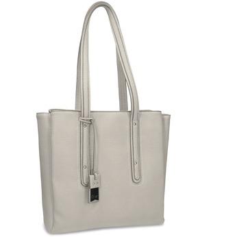 Beżowa torebka damska gabor-bags, beżowy, 961-8011 - 13
