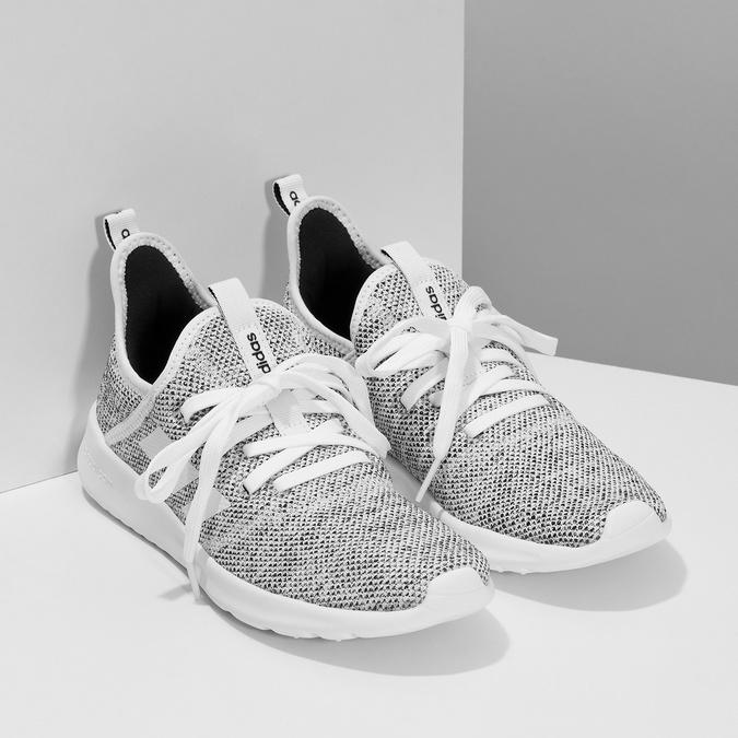 Trampki zwycięciem wokół kostek adidas, szary, 509-2569 - 26