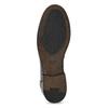 Czarne skórzane mokasyny męskie bata, czarny, 814-6128 - 18