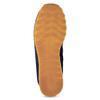 Granatowe skórzane trampki męskie New Balance new-balance, niebieski, 803-9207 - 18