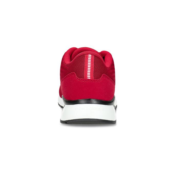 Czerwone skórzane trampki męskie New Balance new-balance, czerwony, 809-5739 - 15