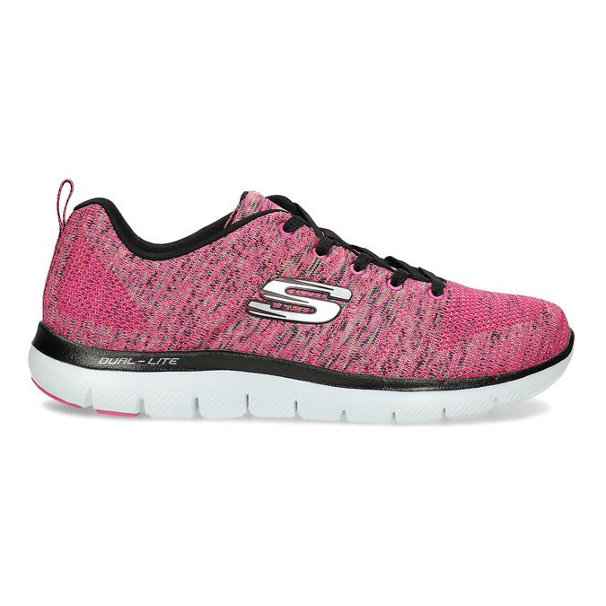 Różowe trampki Skechers skechers, różowy, 509-5530 - 19