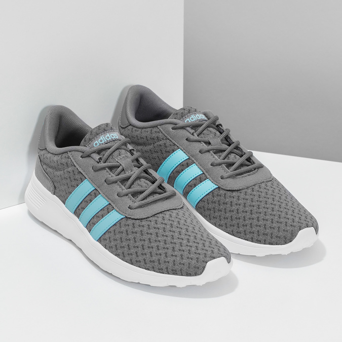 Szare trampki damskie Adidas adidas, szary, 509-2435 - 26
