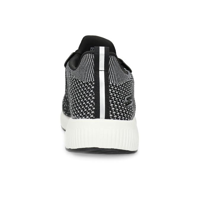 Czarno-białe trampki damskie skechers, czarny, 509-6990 - 15