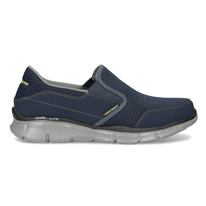 Slip-on wsportowym stylu skechers, niebieski, 809-9147 - 19