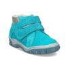 Skórzane obuwie dziecięce za kostkę bubblegummer, niebieski, 113-9608 - 13