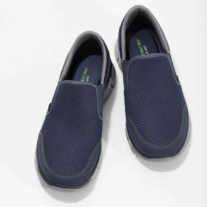 Slip-on wsportowym stylu skechers, niebieski, 809-9147 - 16