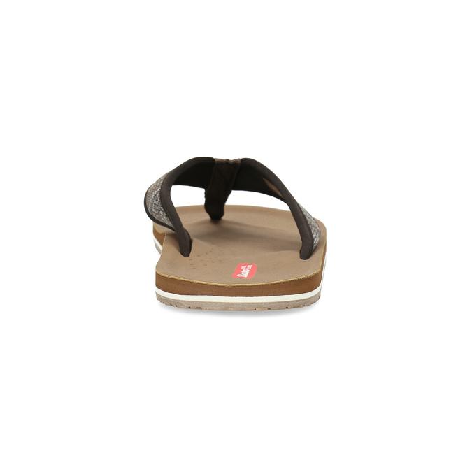 Brązowe japonki męskie bata-red-label, brązowy, 879-4613 - 15