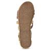 Sandały zpaskami wstylu etno bullboxer, beżowy, 361-8611 - 18