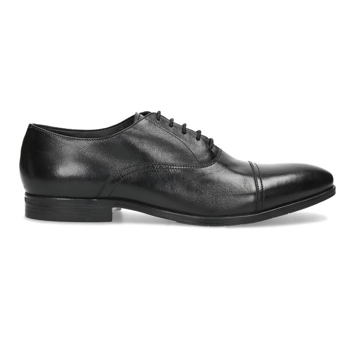 Czarne skórzane półbuty typu oksfordy bata, czarny, 824-6944 - 19
