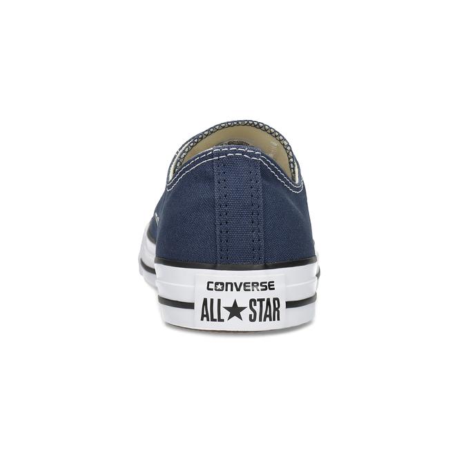 Płócienne trampki damskie zgumowymi noskami converse, niebieski, 589-9279 - 15