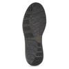 Skórzane obuwie męskie za kostkę, zprzeszyciami bata, brązowy, 846-4645 - 18