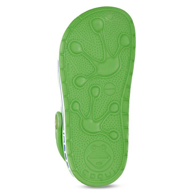 Zielone sandały dziecięce zżabkami coqui, zielony, 272-7603 - 18