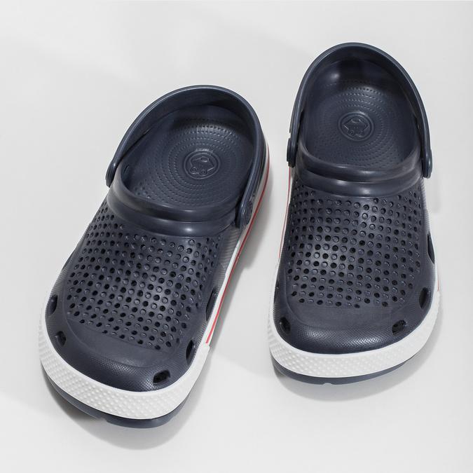 Granatowe sandały damskie coqui, niebieski, 572-9611 - 16