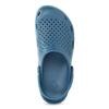 Turkusowe klapki męskie wstylu chodaków coqui, niebieski, 872-9657 - 17