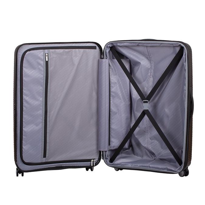 Twarda czarna walizka na kółkach american-tourister, czarny, 960-6613 - 17