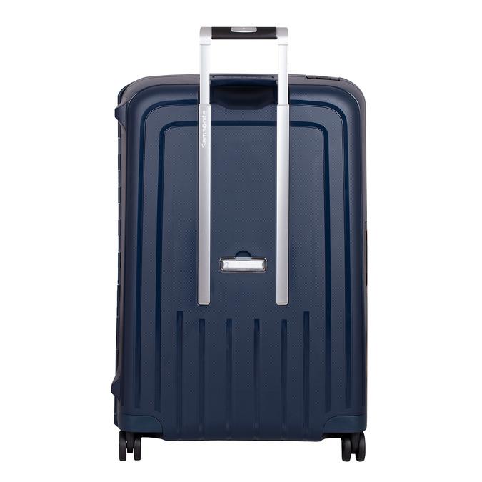 Twarda granatowa walizka na kółkach samsonite, niebieski, 960-9612 - 26