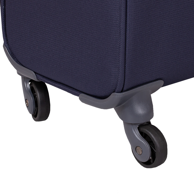 Duża miękka granatowa walizka na kółkach samsonite, niebieski, 960-9042 - 16