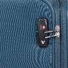 Turkusowa walizka na kółkach, zmateriału tekstylnego roncato, niebieski, 969-9720 - 15
