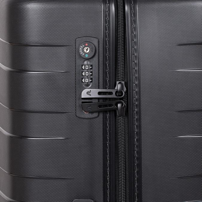 Duża twarda walizka wkolorze czarnym roncato, czarny, 960-9726 - 15