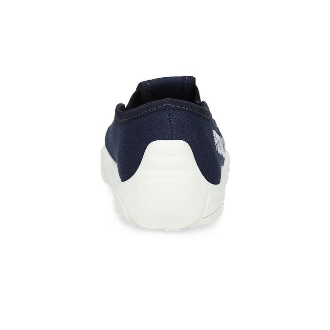 Granatowe obuwie dziecięce typu slip-on mini-b, niebieski, 379-9601 - 15