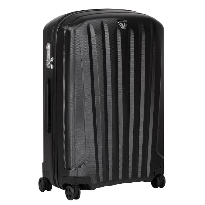 Średnia twarda walizka czarna roncato, czarny, 960-6736 - 13