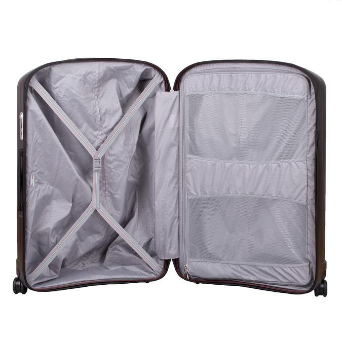 Średnia twarda walizka czarna roncato, czarny, 960-6736 - 17