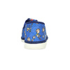 Granatowe wzorzyste kapcie dziecięce bata, niebieski, 179-9213 - 15