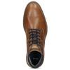 Brązowe skórzane obuwie męskie za kostkę bata, brązowy, 826-3505 - 17
