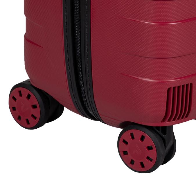 Duża czerwona walizka na kółkach roncato, czerwony, 960-5727 - 16